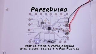 getlinkyoutube.com-Paperduino: How to Print a Paper Arduino