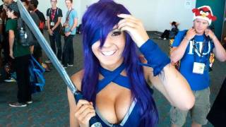 getlinkyoutube.com-Jessica Nigri Hot Cosplay Interview #2 (uncut)