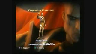 getlinkyoutube.com-GOD of WAR 2 Personajes y Trajes Secretos (Tesoros y Secretos) HD