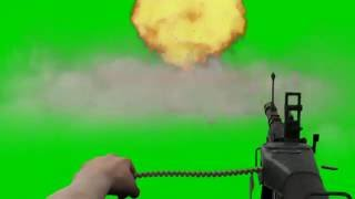 getlinkyoutube.com-Green Screen Machine gun