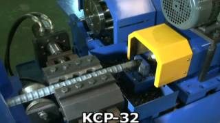 getlinkyoutube.com-KCP-32 건우기계 보급형,일체형 철근커플러기계 Rebar Coupler System