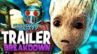 getlinkyoutube.com-Guardians Of The Galaxy Vol. 2 Trailer Breakdown - Baby Groot VS The World + Mantis