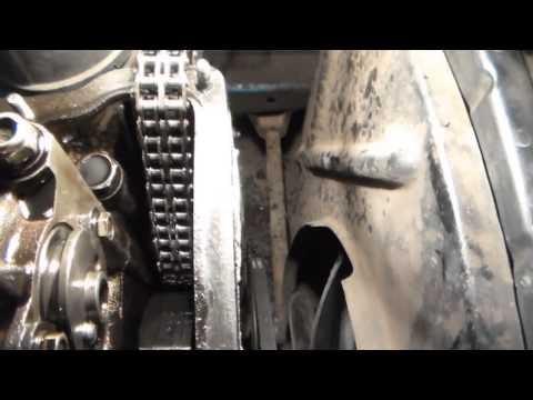 Замена:натяжитель,башмак,успокоитель и цепь ГРМ ВАЗ-2101