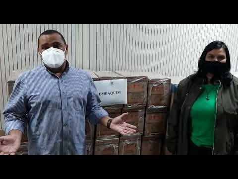 Campanha Quarentena Solidária 2021: agradecimento à empresa Embaquim
