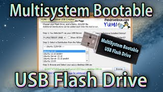 getlinkyoutube.com-Create USB Flash Drive Bootable (MultiSystem Pendrivelinux) Multiboot Pendrive Using Yumi