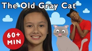 getlinkyoutube.com-The Old Gray Cat and More | Nursery Rhymes from Mother Goose Club!