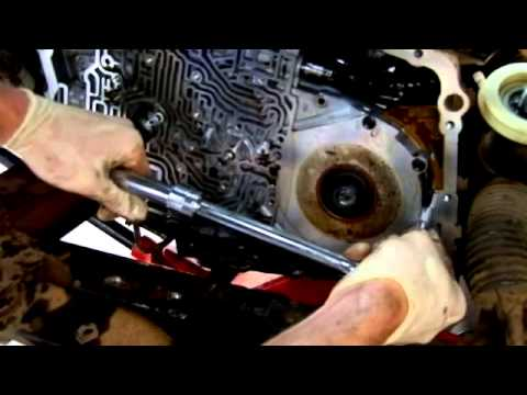 4t65e transmission disassembly in car. Part 2 of 2