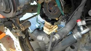 getlinkyoutube.com-Mitsubishi Montero Engine Removal