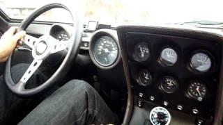 getlinkyoutube.com-Lambolgini Miura SV カーレーサー山岸さんによるドライブ