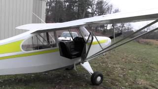 getlinkyoutube.com-Blue Ridge Sport Flight 7AC Aeronca Champ Sport Pilot Training in Hendersonville, NC