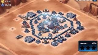 Star Wars: Commander - Strongest Lvl 7 HQ Base Attacked