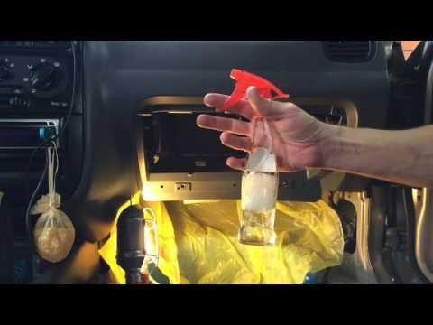 Разбираем и чистим испаритель кондиционера на шевроле ланос 2007 года  Chevrolet Lanos