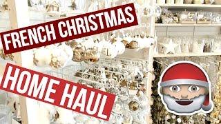 getlinkyoutube.com-French Christmas Decoration Haul & Amma Massage | VLOG