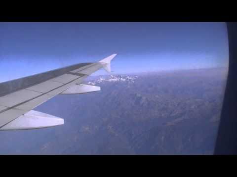 из Бутана в Индию. Потрясающий вид на горы из самолёта!