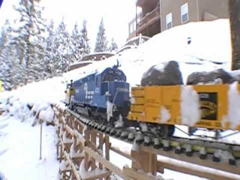 G Scale Train Snow Plow