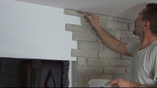 getlinkyoutube.com-Jak ułożyć imitację cegły, film instruktażowy.