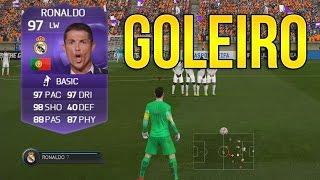 CR7 GOLEIRO e TIME DE CABEÇA PRA BAIXO - FIFA 15 Ultimate Team