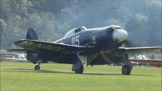 Hawker Sea Fury incredible display Hahnweide 2013