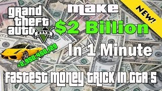 getlinkyoutube.com-GTA 5 - Make 2 Billion Dollars in 1 Minute Glitch - Fastest Money Trick In GTA 5!