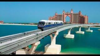 DUBAI MONORAIL Ride | DRIVERLESS Train!! | The Best View of PALM ISLAND 🏝 🔥🔥🔥