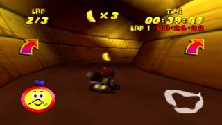 Diddy Kong Racing (Jungle Falls Track) - LBF's First Attempt of Recording A Video Game