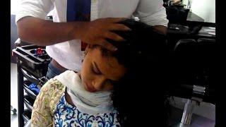 getlinkyoutube.com-4x Faster Hair Growth with Argan Oil Head Massage - Part 3