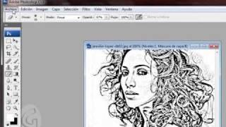 getlinkyoutube.com-como convertir una foto a un dibujo
