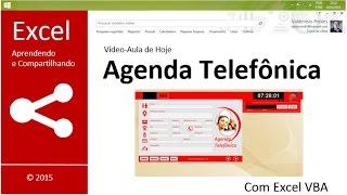 getlinkyoutube.com-Excel VBA   Agenda Telefonica   1ª Parte