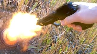 getlinkyoutube.com-EKOL Special 99 Blank Pistol - Firing Tests Slow Motion