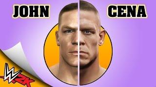 JOHN CENA evolution - WWE SMACKDOWN HERE COMES THE PAIN to WWE 2K16