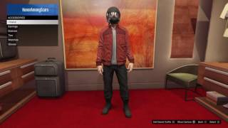 Grand Theft Auto 5 Online Guardians of the Galaxy Star Lord Outfit tutorial