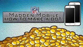 getlinkyoutube.com-How To Make A Bot | Madden Mobile 16.