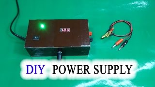 getlinkyoutube.com-How to make Adjustable Voltage Power Supply Simple IC LM317