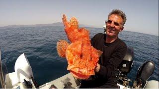 getlinkyoutube.com-Ολο το ψαρεμα σε μια τσαπαρια