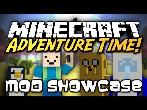 Minecraft Mod Showcase : Adventure Time! [VISIT THE LAND OF OOO, FIGHT THE ICE KING!]