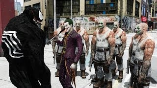 getlinkyoutube.com-Joker vs Venom - Epic Battle - Grand Theft Auto