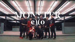 getlinkyoutube.com-[EAST2WEST] EXO - Monster Dance Cover