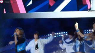getlinkyoutube.com-[FANCAM] 121118 f(x) - Pinocchio at Dungeon and Fighter Festival