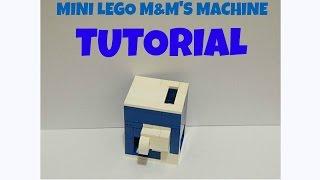 getlinkyoutube.com-Lego Tutorial - Mini M&M Machine V1