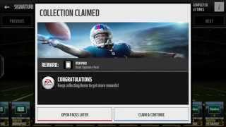 getlinkyoutube.com-Signature Pack Opening, Will I Get Anything? | Madden Mobile