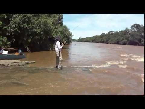 Reginaldo Sucuri ....Pescaria de Dourado em Concepción  PY