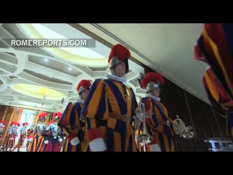 Pope's Army  New Swiss Guard recruits take their oath