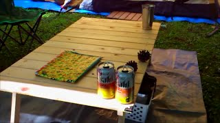getlinkyoutube.com-【DIY】木工素人がキャンプ用テーブルを自作してみた動画。