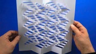 getlinkyoutube.com-3D-Paper-Structure Tutorial