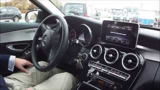 getlinkyoutube.com-Mercedes Benz C220 CDI Active Parking Assist