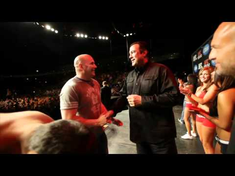 UFC 129: Couture vs Machida Weigh-In Highlight