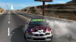 getlinkyoutube.com-My NFS Prostreet Video + 1/4 mile drag world record  5.18 seconds