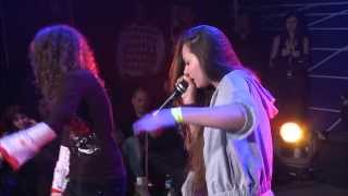 getlinkyoutube.com-Pe4enkata vs Sara - 1/4 Final - 3rd Beatbox Battle World Championship