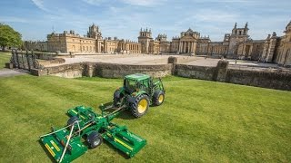 Major TDR Roller Mower at Blenheim Palace