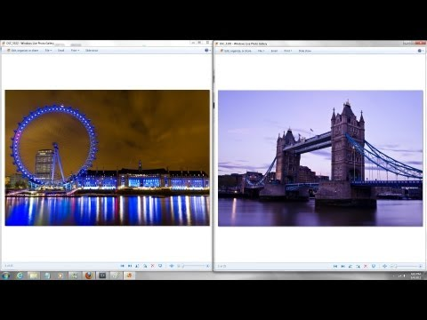 Photographing Tower Bridge - The London Eye - Houses of Parliament - Day and Night Photography